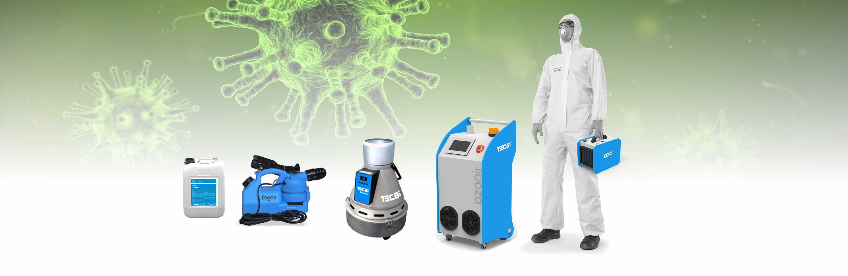 virus disinfection equipment