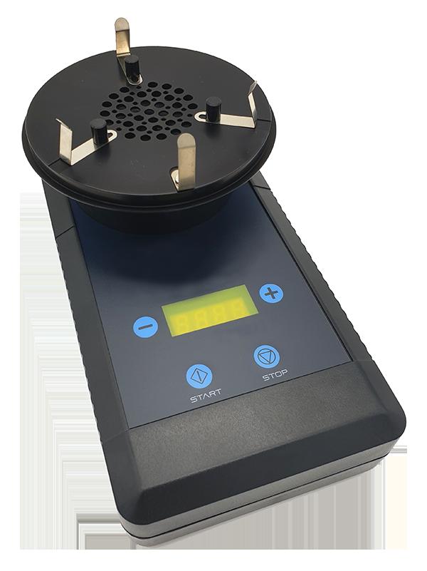 Equipo de medición microbiológica del aire