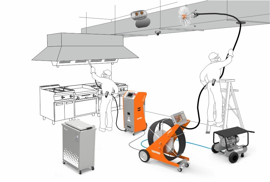 Portable Ultrasonic cleaning equipment