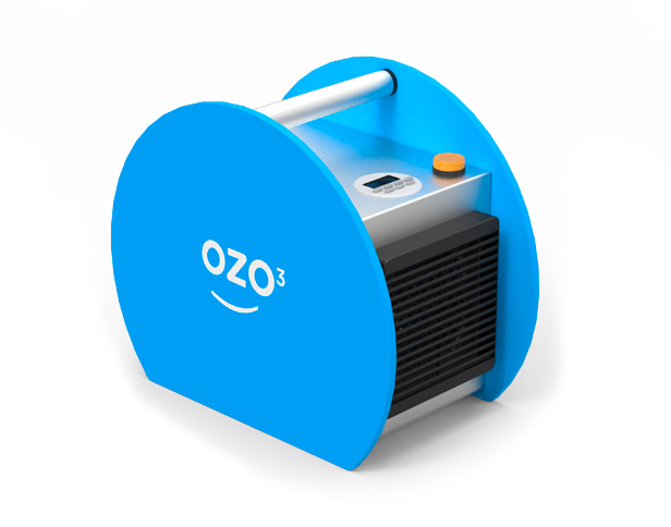 Portable ozonizer for room disinfection